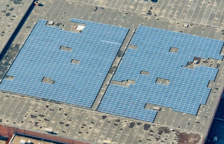 solar panels for Fletcher Warehouse