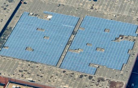 solar panels for Fletcher Warehouse