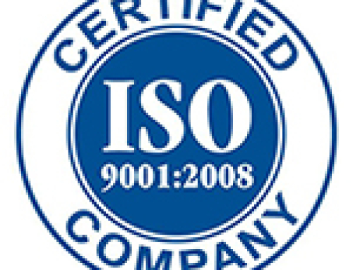 DCE Solar has been Awarded ISO 9001:2008 Certification