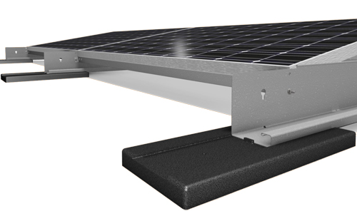 Eco Top Rooftop Mounting Structure For Solar Panels