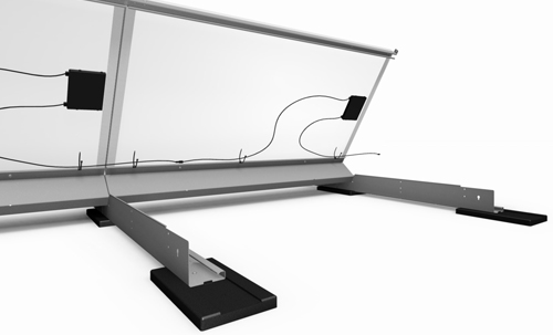 Dce Solar Eco Top Rooftop Mounting Structure For Solar