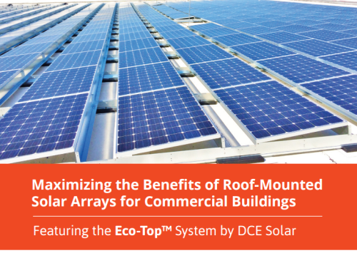 Simpler Installation and Improved Performance Highlighted in DCE Solar's New Report on Roof Mounted Arrays