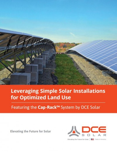 Leveraging Simple Solar Installations for Optimized Land Use Cover