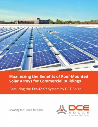 Maximizing the Benefits of Roof-Mounted Solar Arrays for Commercial Buildings Cover